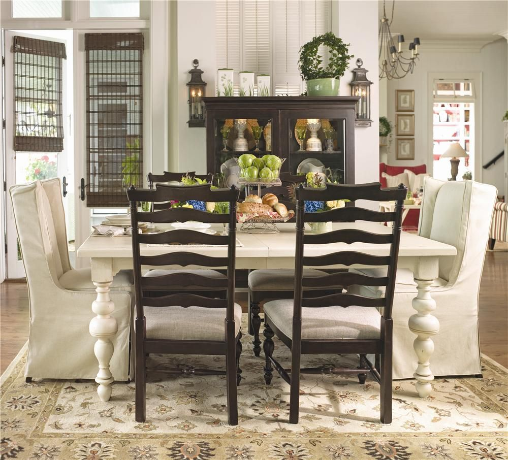 Paula Deen Home Paula S Table W Wing Chairs With Images Side
