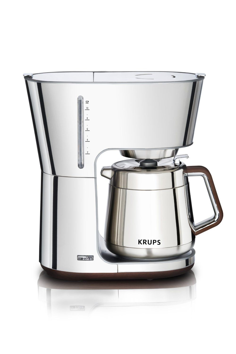 Beautiful but expensive and not programmable KRUPS KT600 Silver