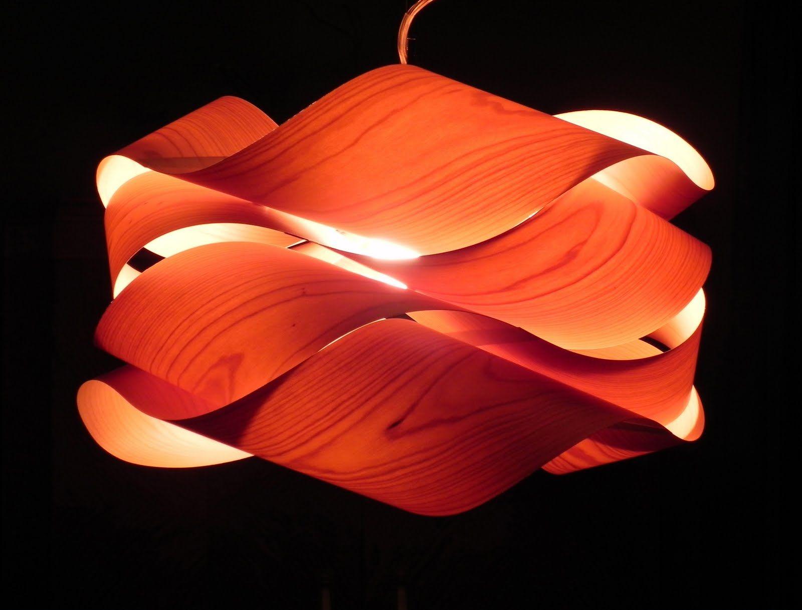 wood veneer lighting. Link Suspension Light - Small Wood Veneer Lighting