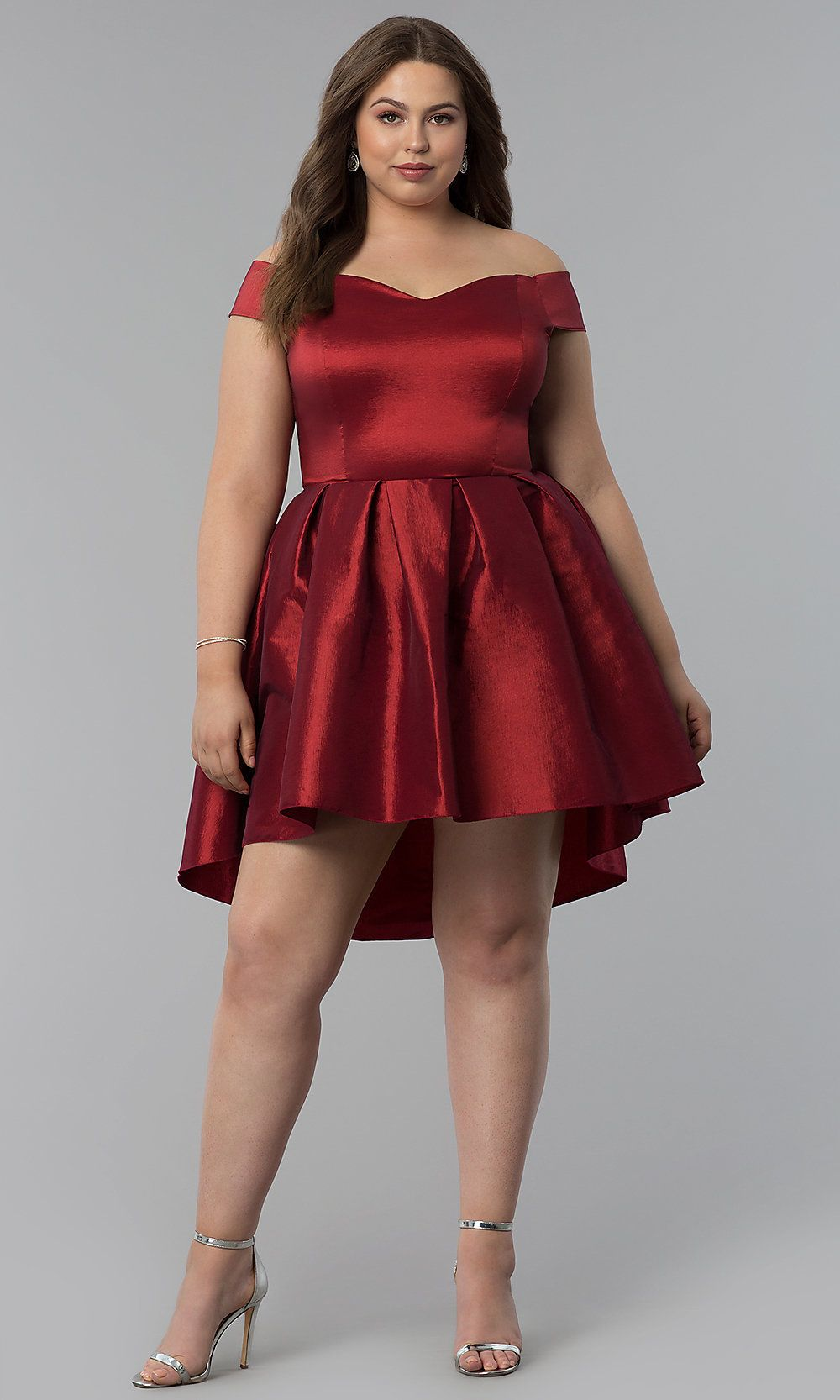 High-Low Semi-Formal Plus-Size Short Party Dress in 2019 ...