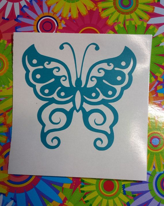 BUTTERFLY NATURE Vinyl Decal Coffee Mug Yeti Cup Notebook - Butterfly vinyl decals