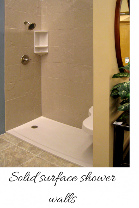 Genial Solid Surface Shower Walls Can Create A Low Maintenance And Easy To Install  Shower System.