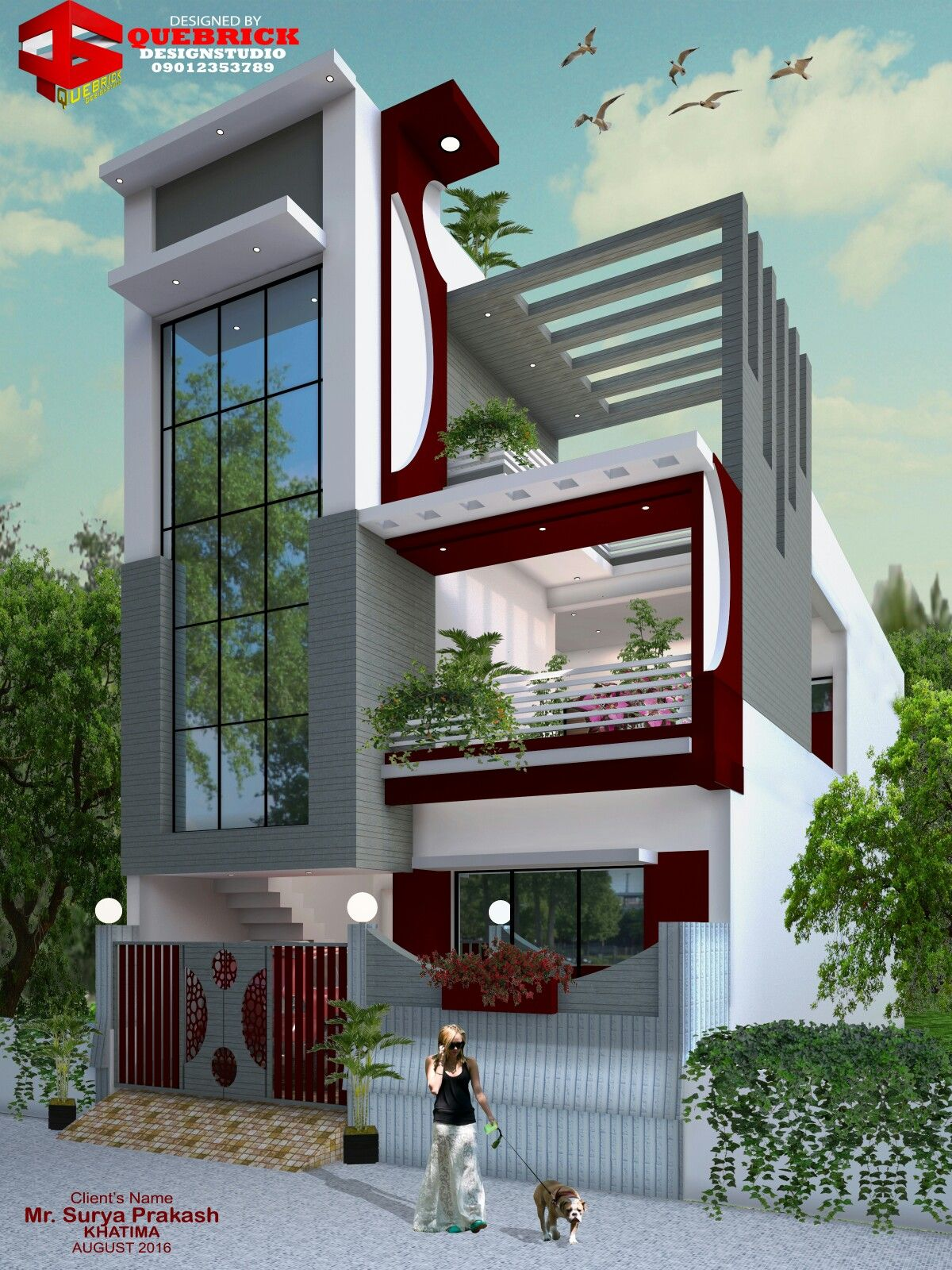 Bungalow house design front cool designs new home also azhar masood engrazharmasood on pinterest rh