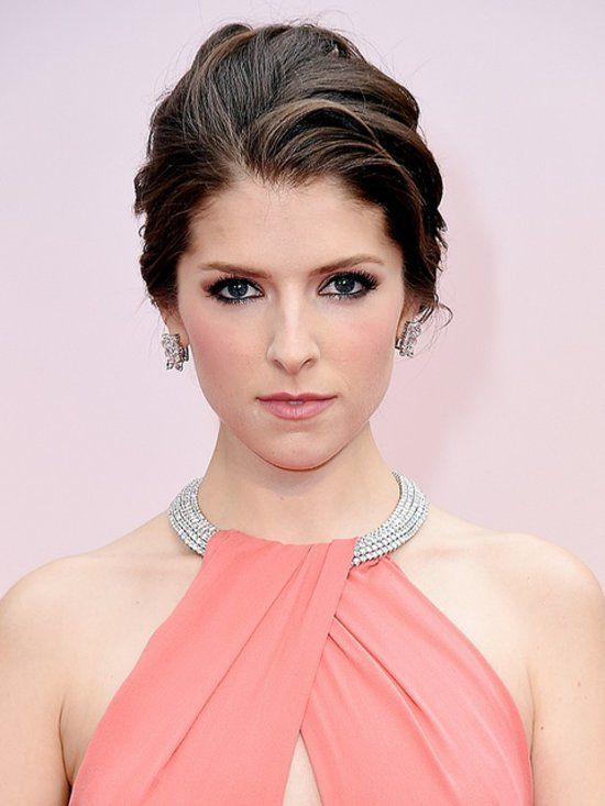Anna Kendrick's pink blush and soft bronze smoky eye made her complexion glow. Try Elizabeth Arden's Ceramide Cream Blush in Pink ($24) to get the look at home.