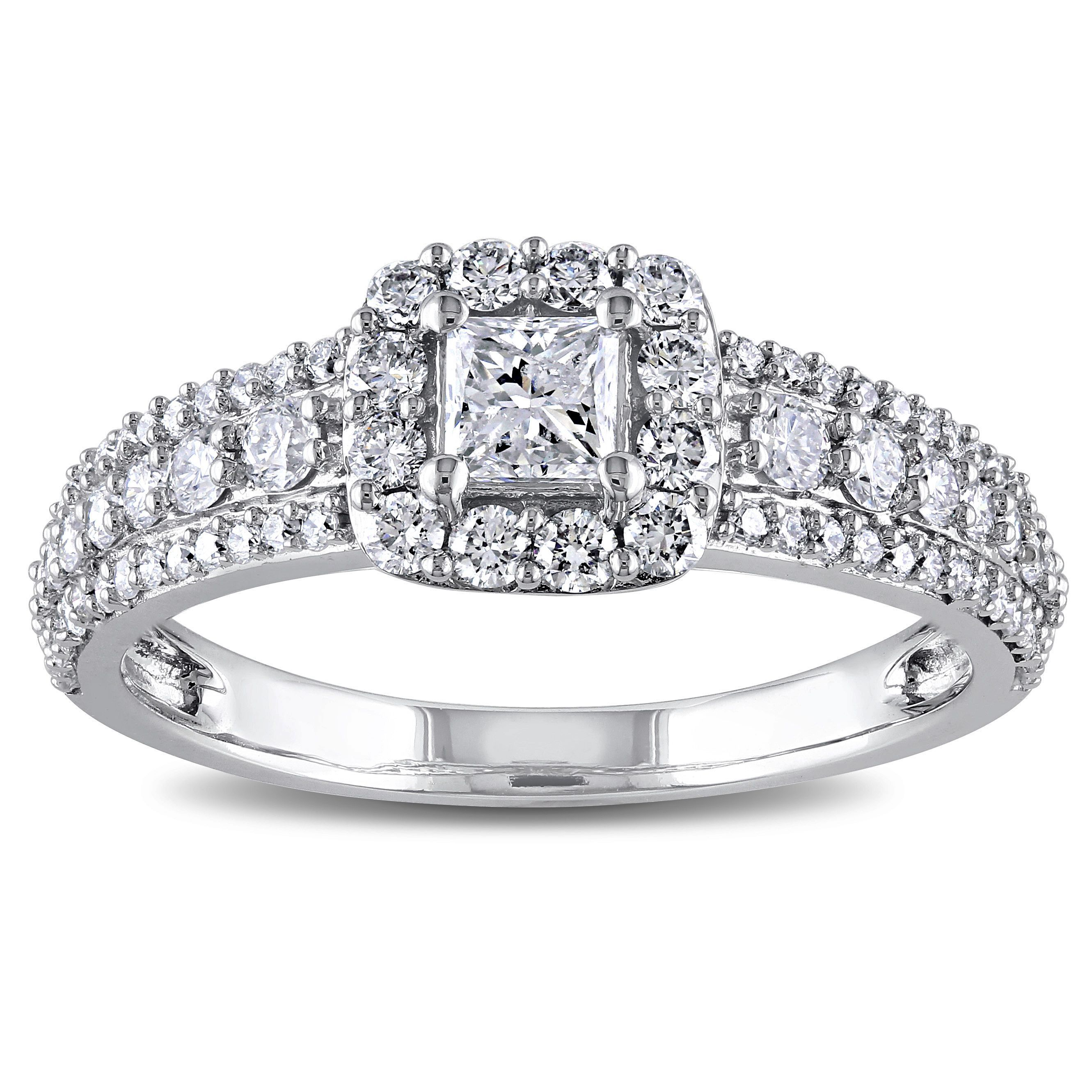 Miadora Signature Collection 14k White Gold 1ct Tdw Diamond Engagement Ring  (gh, I1i2) (size 10), Women's