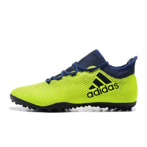 purchase cheap df96d bddfe Hot Adidas X 17.3 TF Green Blue Football Boots