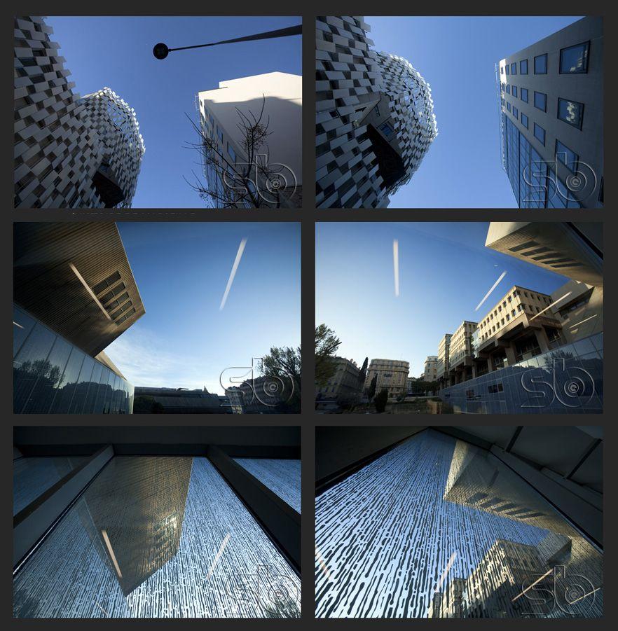 Le #FRAC Marseille de Kengo #Kuma et le Musée d'histoire de #Marseille (centre bourse) http://www.dossierphoto.fr/portfolio/architecture-marseille/