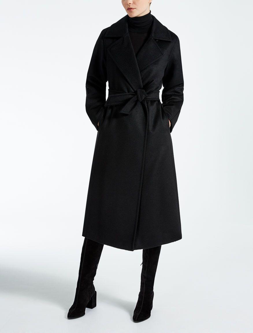 65f4efc968a69 Max Mara MANUELA black  Manuela Icon Coat.   2017   Coat, Coats for ...