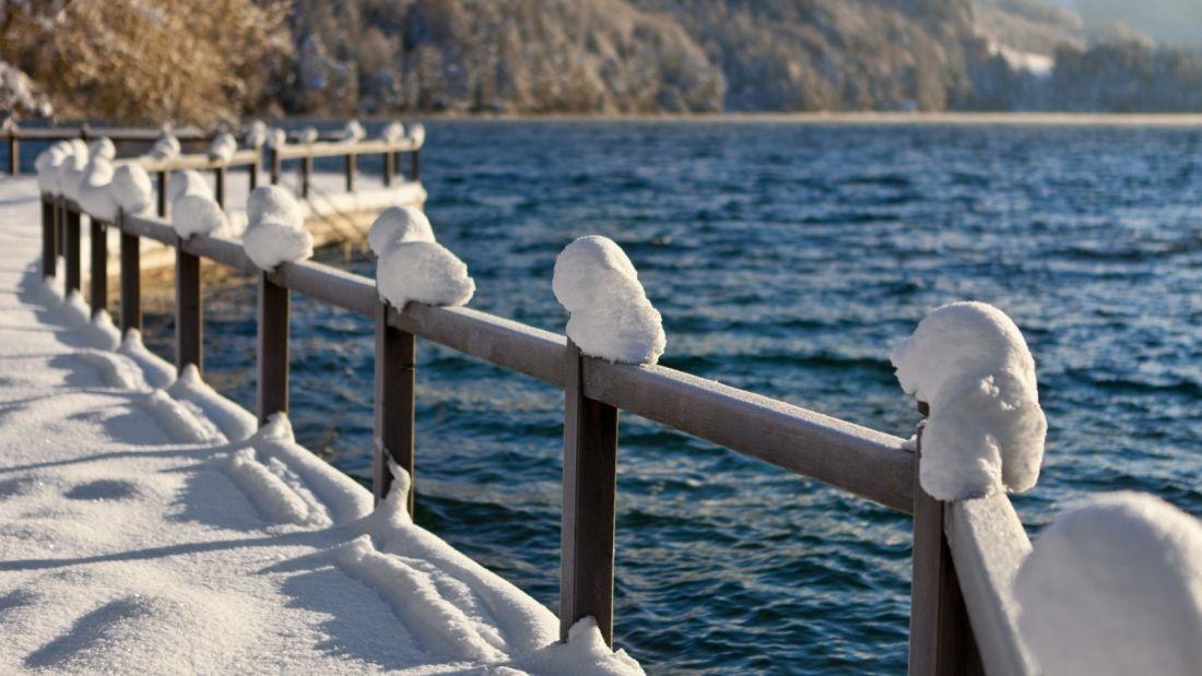Winter Spaziergang am Fuschlsee