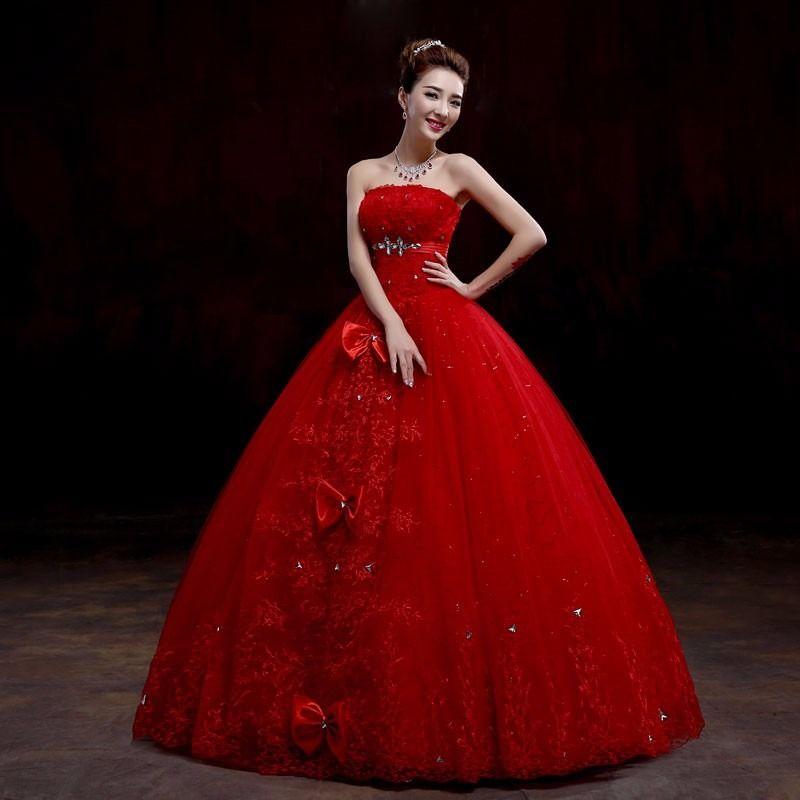 vestido de novia rojo - Buscar con Google | Vestidos de novia ...