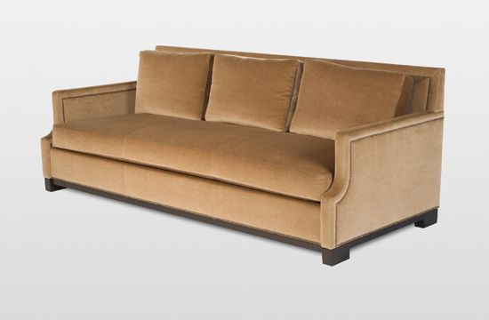 Holly Hunt George V Sofa Deep Sofa Are Perfect For Lounging