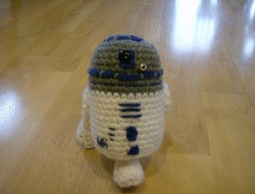 Crochet R2d2 Free Pattern Though Personally Im Not Good At
