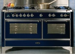 14499 Ilve 60 5 Burner Dual Fuel Range With Griddle And Coup De Feu The Large Cast Iron Coup De Feu Kitchen Inspirations Ilve Dual Fuel Ranges