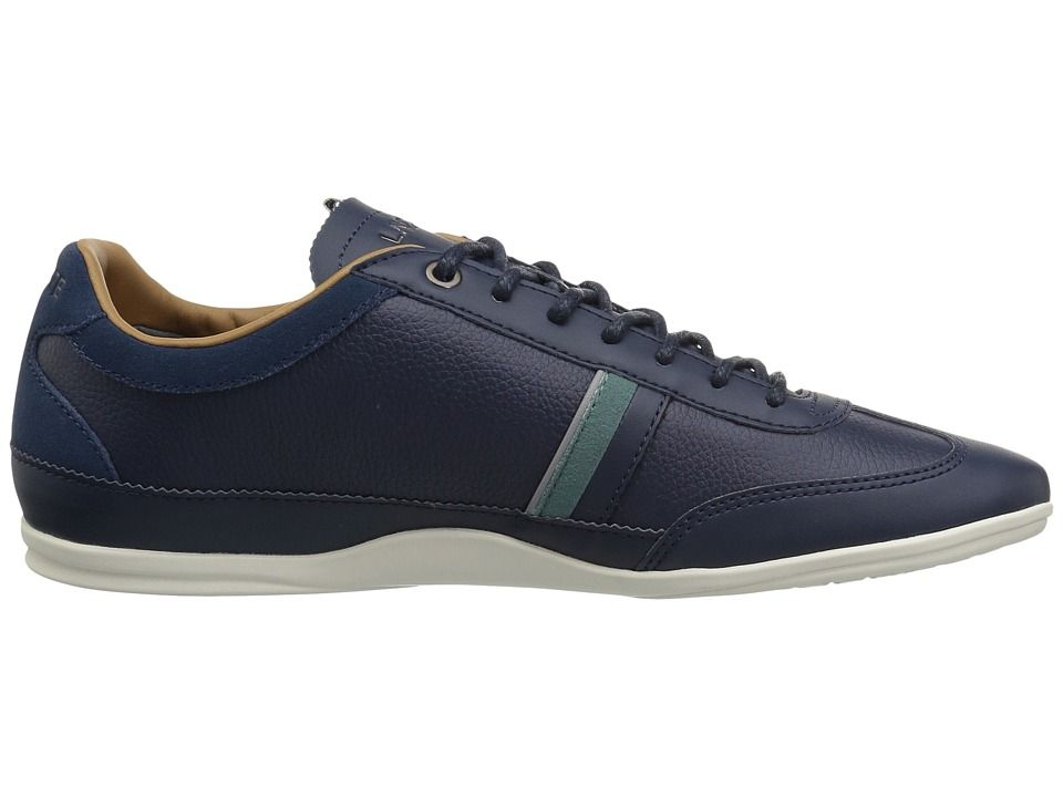 6494beb4f185e Lacoste Misano 118 1 Men s Shoes Navy Green