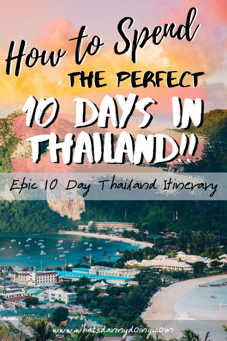 19 travel destinations Thailand country ideas
