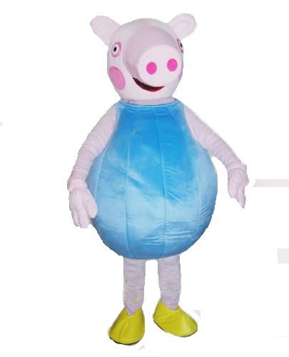 Peppa George Pig Costume Hire Our Party Mascot Costumes For