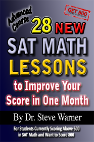 Advanced Sat Math Book For The Revised Sat Get 800 Sat Math Math Lessons Math Books