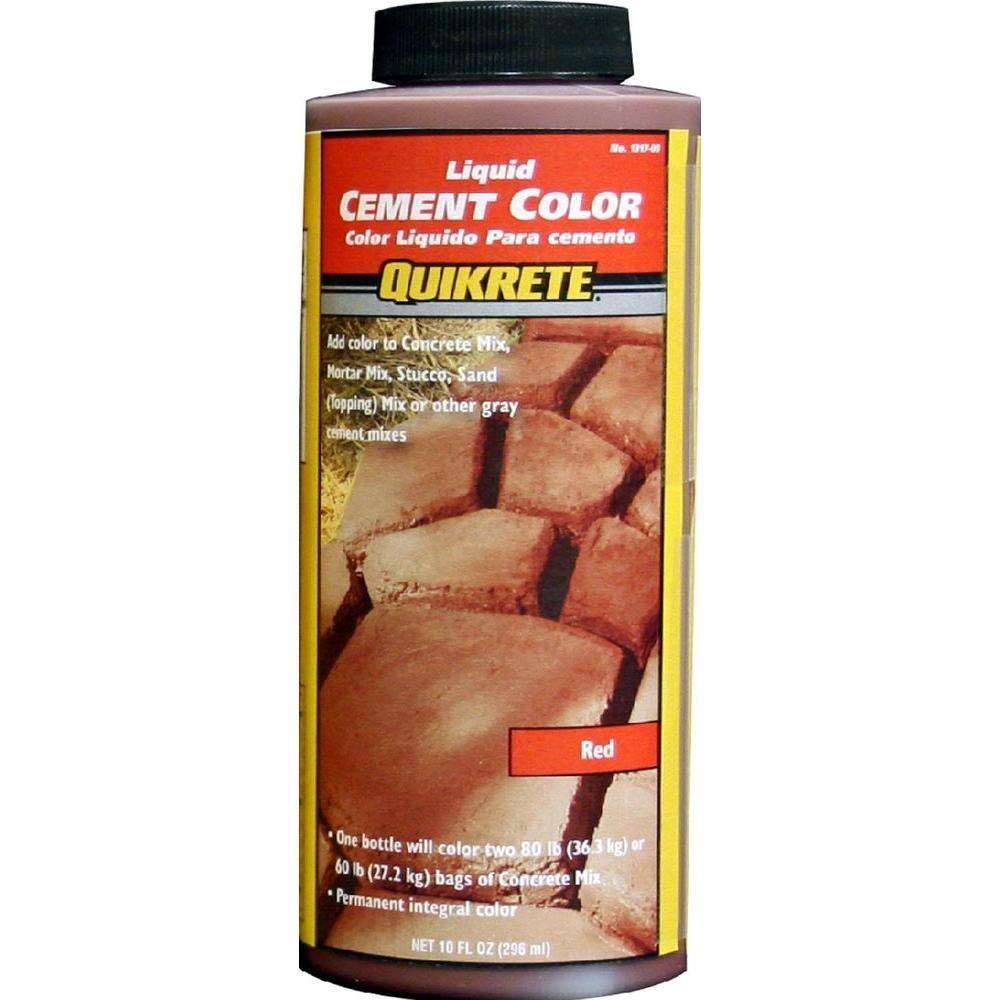 Quikrete 10 Oz Liquid Cement Red