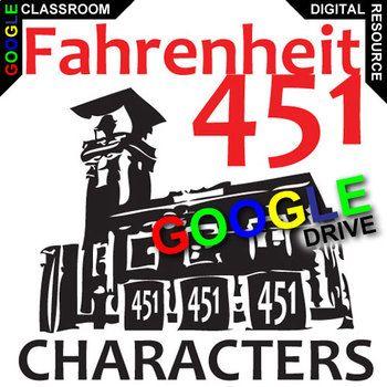 fahrenheit 451 characters
