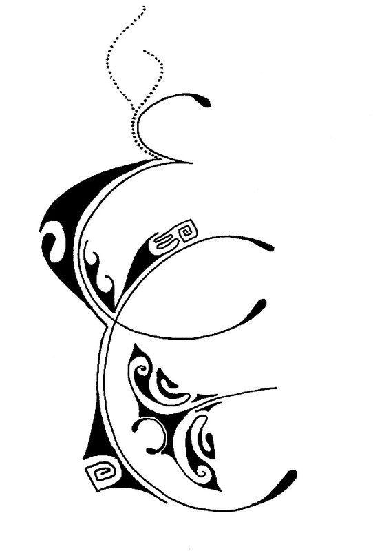 Resultat De Recherche D Images Pour Lettre C Entrelace Tatouages