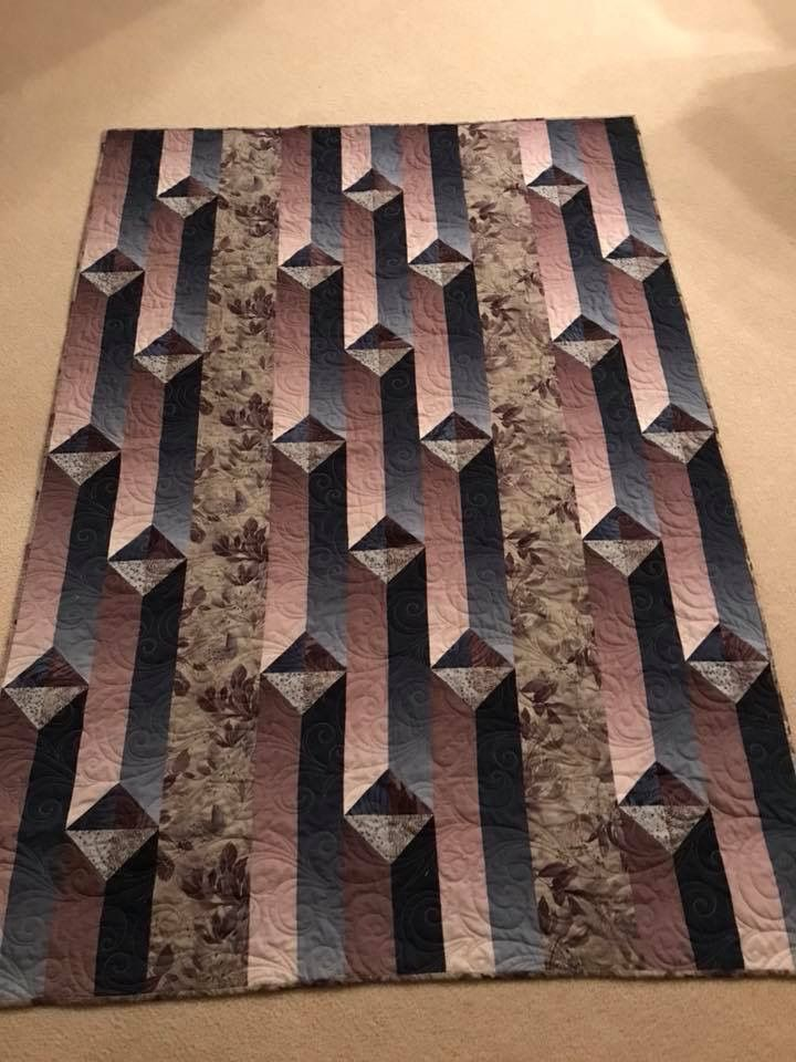 Not mine, but amazing inspiration...   Quilting # 14   Pinterest ...