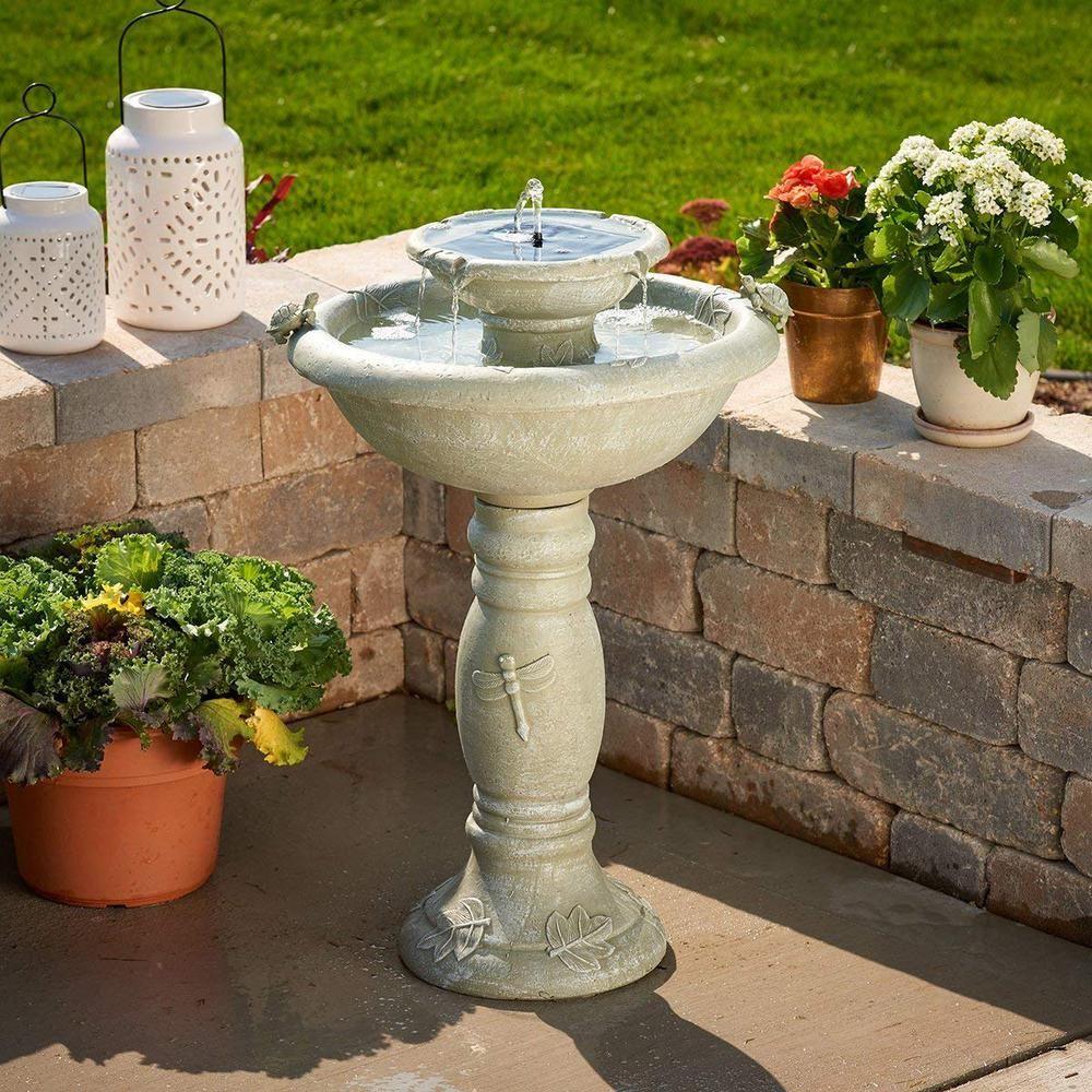 7d01f12ca134a66aadcc9d7f4e4ac193 - Smart Solar Gardens 2 Tier Solar On Demand Fountain