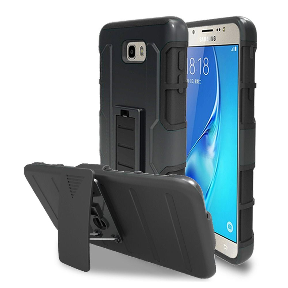 For Samsung Galaxy J7 Prime Case 5.5 Inch Plastic Protective Armor Cover Phone Bags Cases for Samsung Galaxy ON7 2016 Shell Capa