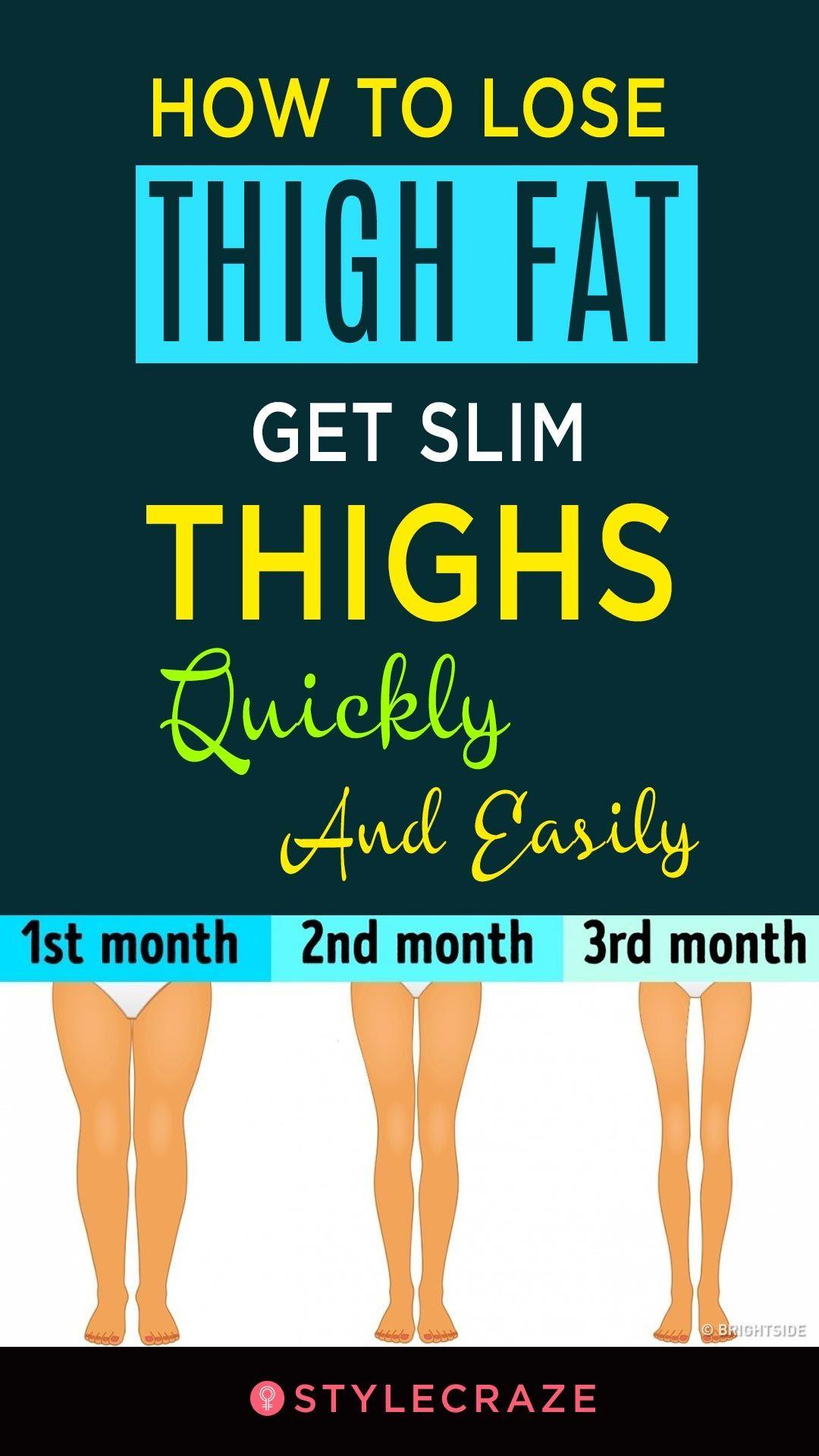 get slimmer thighs