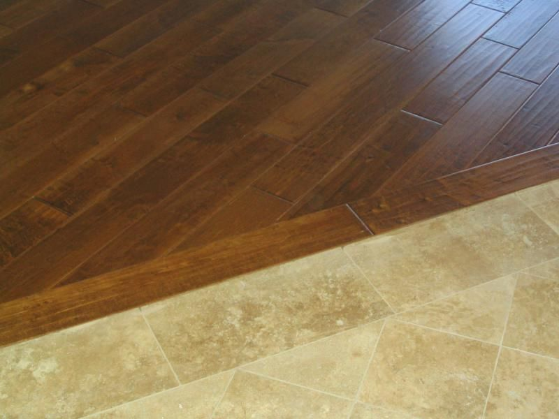 Tile To Wood Floor Transition Wonderful Miscellaneous - Transition From Wood To Tile WB Designs