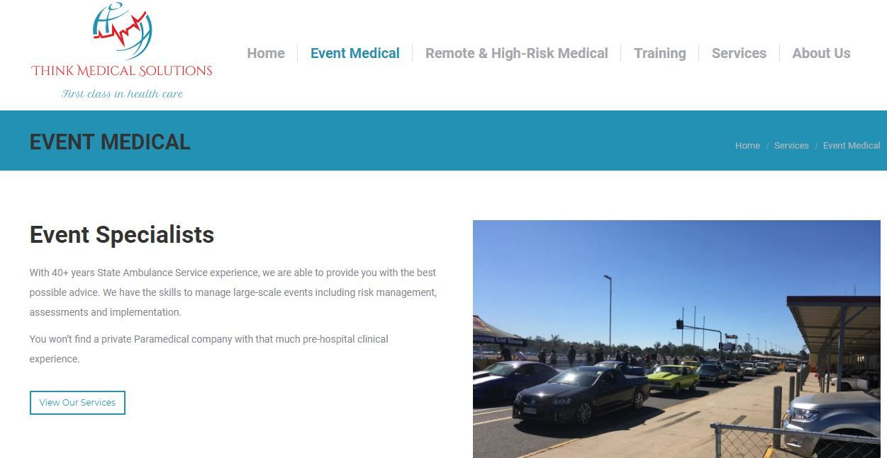 We provide Event Medical Services Australia, event first
