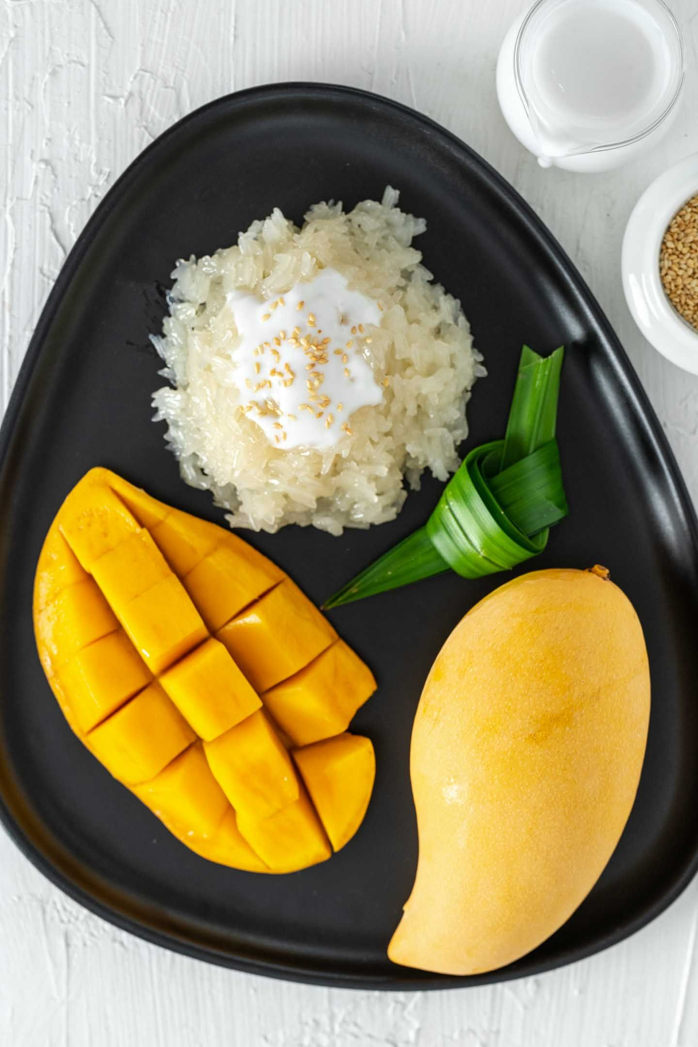 Mango Sticky Rice - Authentic Thai Dessert Recipe ...