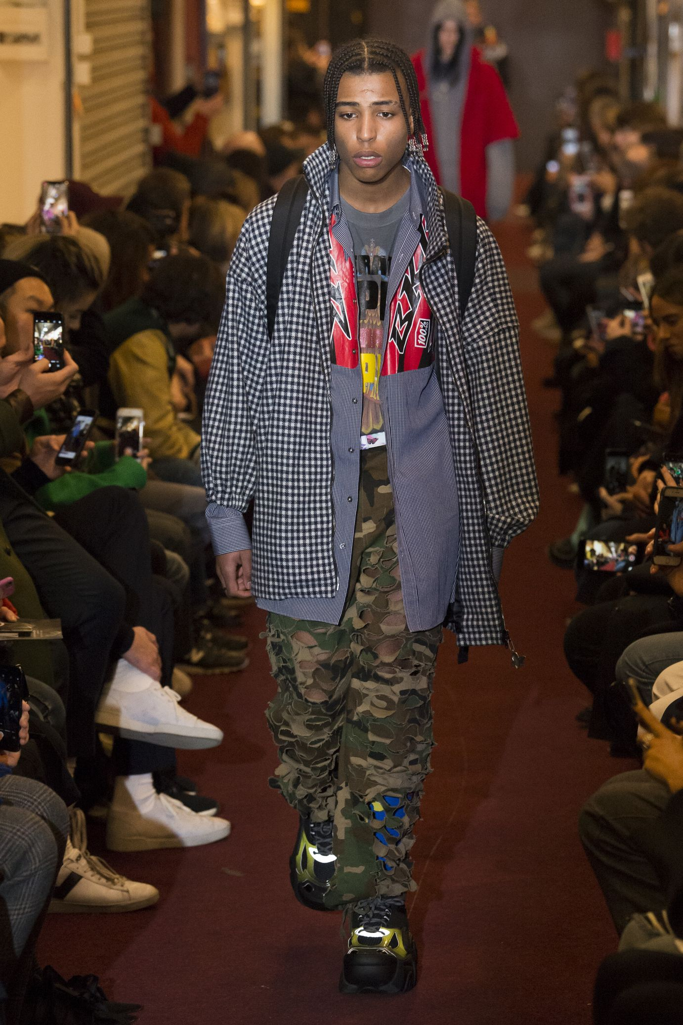 Watch Vetements FallWinter 2019 Collection From Couture Fashion Week video
