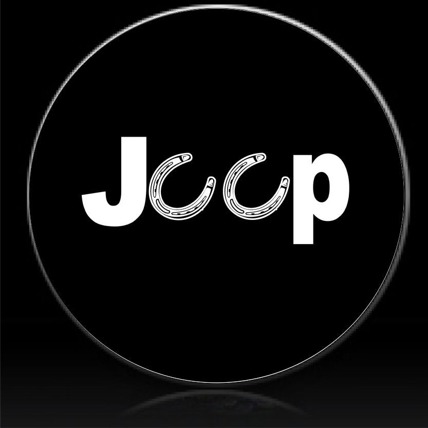 Jeep Horseshoes Spare Tire Cover Tire Cover Spare Tire Covers