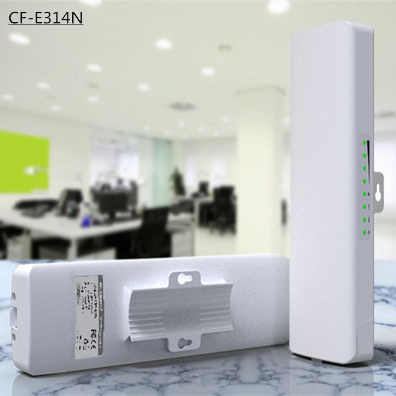 Comfast Cf E314n 300mbps High Power Outdoor Wireless Ap Cpe Bridge With Panel Antenna 14dbi High Gain Wifi An Wifi Signal Booster Wireless Router Wifi Extender