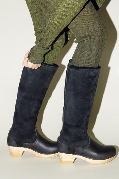 72c1e17c9a9 No.6 15 | Shoebox | Clog boots, Boots, Shearling boots