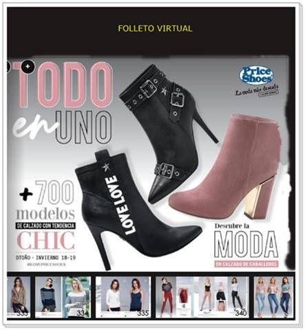aff096c3 Catalogo Price Shoes Todo en Uno 2018-19. #zapatosmujer #botasaltas  #CatalogosMX