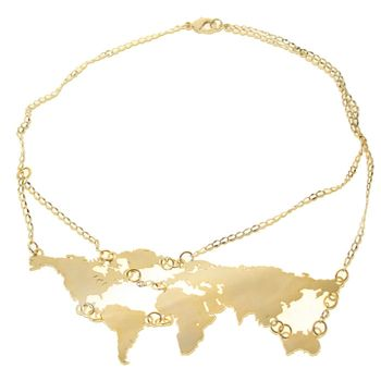 map jewelry..