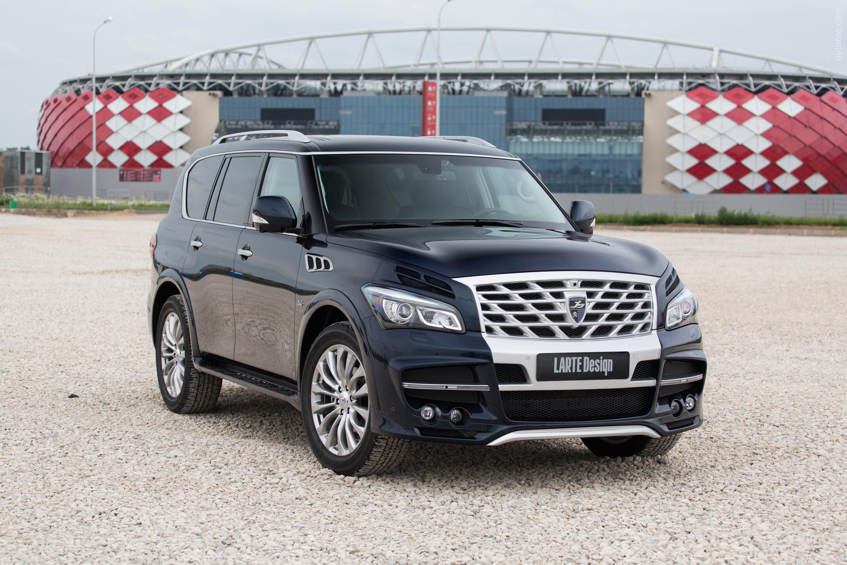 shows for its suv news high end infiniti sale infinity qx auto
