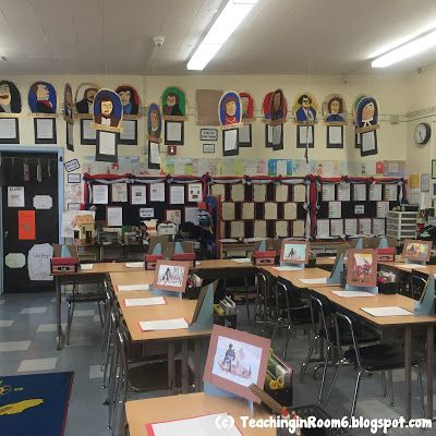 A peek into a 5th grade classroom during open house Very