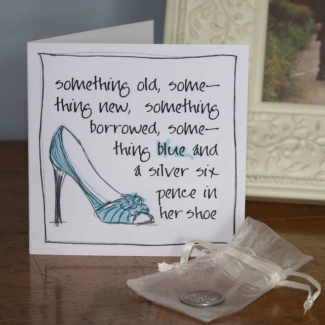 A Silver Sixpence In Her Shoe Card 6 00
