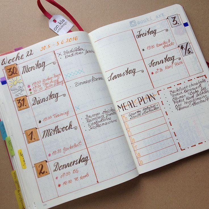 woche 22 planen terminplaner gestalten kalenderideen