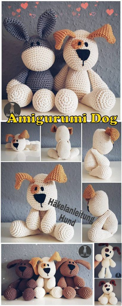 20 Best Amigurumi Dog Free Crochet Patterns - Amigurumi #crochetanimalamigurumi
