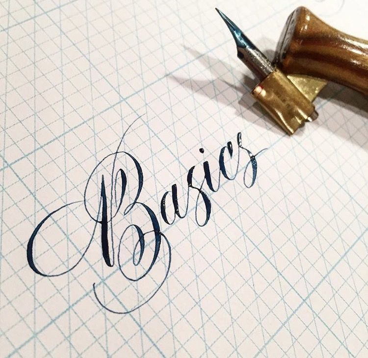 Getting started in pointed pen calligraphy — logos