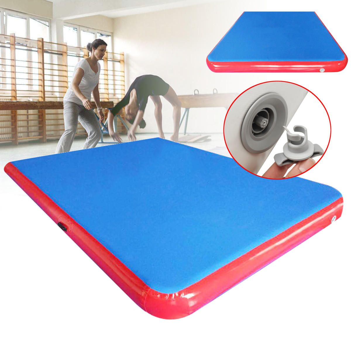 [US628.29] 118×79×4inch Inflatable GYM Air Track Mat