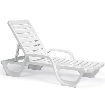 Grosfillex Bahia Contract Chaise Lounge Chairs Contact Use