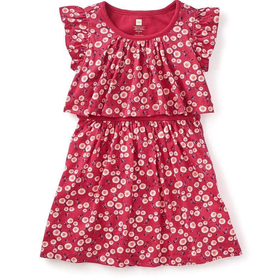 Tea collection giacomous garden swing dress girls clothes