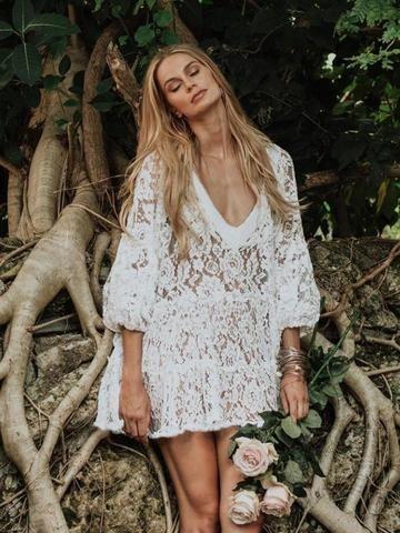 82e3afed4e Vacation Lace Beach Swimwear Bikini Cover-Ups – chicboho. Stylnbo-Women's  fashion buyer website – stylinbo