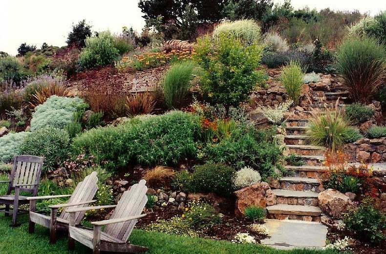 Simple Free Online Image Editor To Viral Sloped Backyard Landscaping Backyard Hill Landscaping Steep Gardens