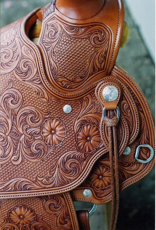 Image result for saddle leather tooling patterns mike s