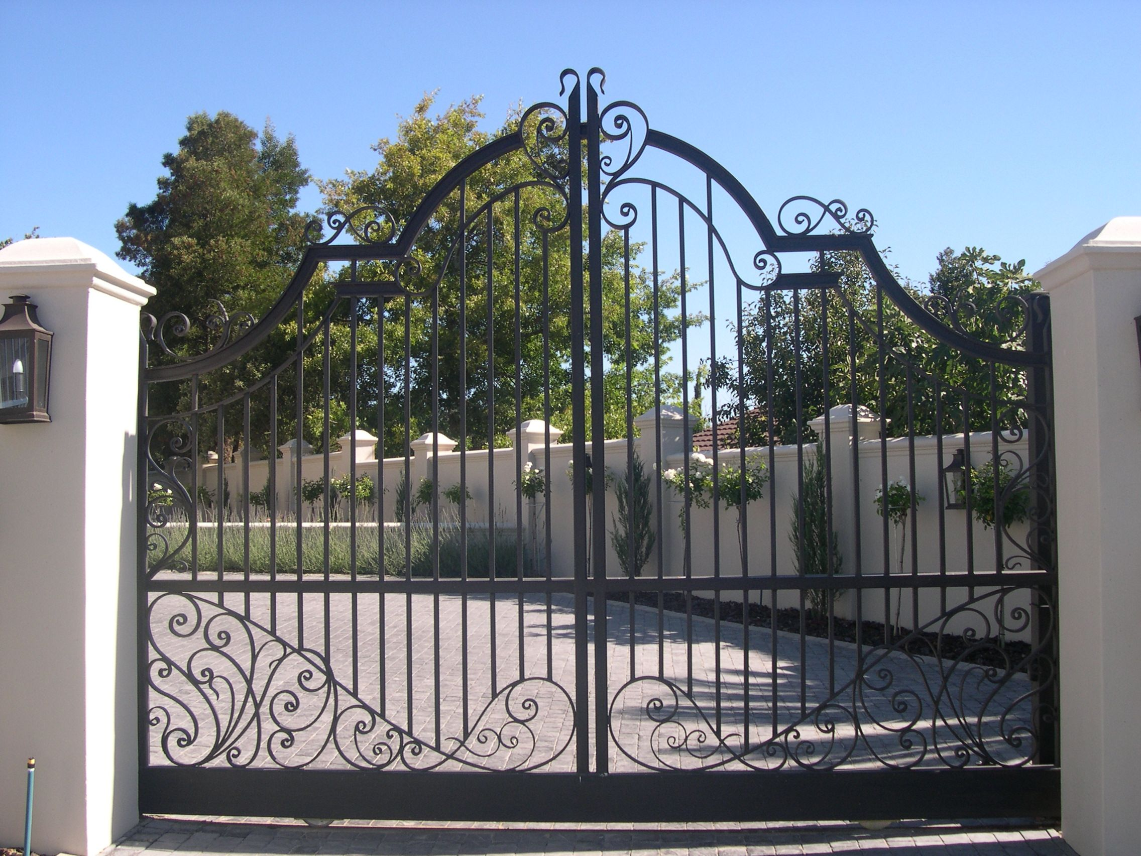 Wrought Iron Sliding Gate Wrought Iron Gates Sliding Gate